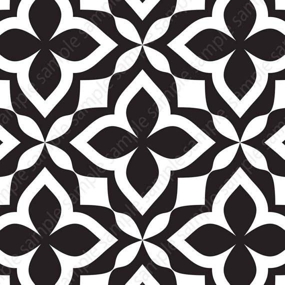 Black White Tiles Printable Wall Art Set Of 4 8x8 Geometric Prints Square Posters For Modern Apartment Design Digital Download Decor Cizim Rehberleri Sablon Baski Sanat Desen