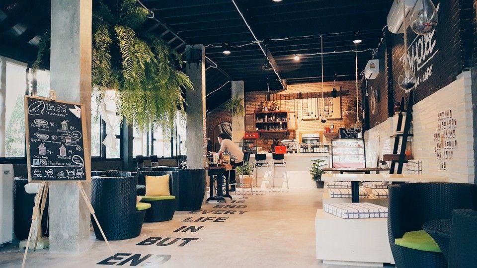 Row House Cafe Hua Hin 106 Tailanda Cafe House Thai Style și