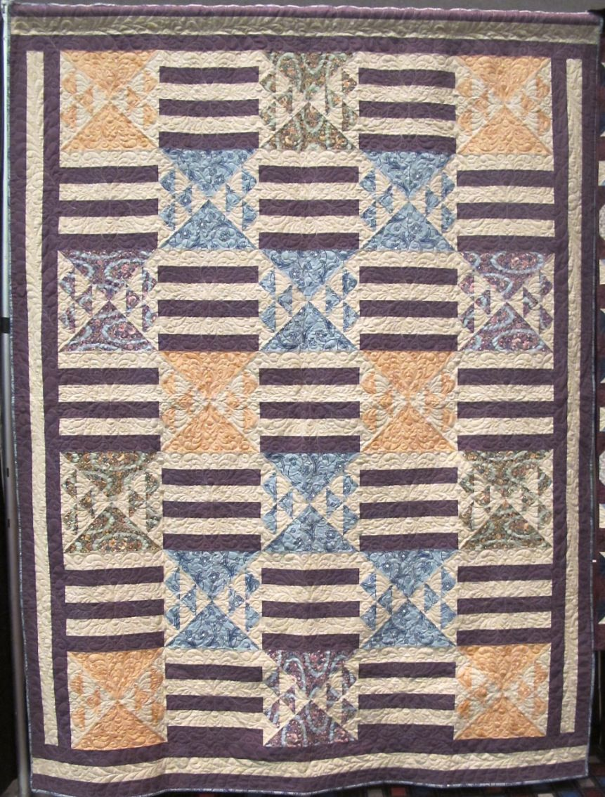 Ediths Grand Entrance Quilt Pattern By Tiffany Hayes Using Downton