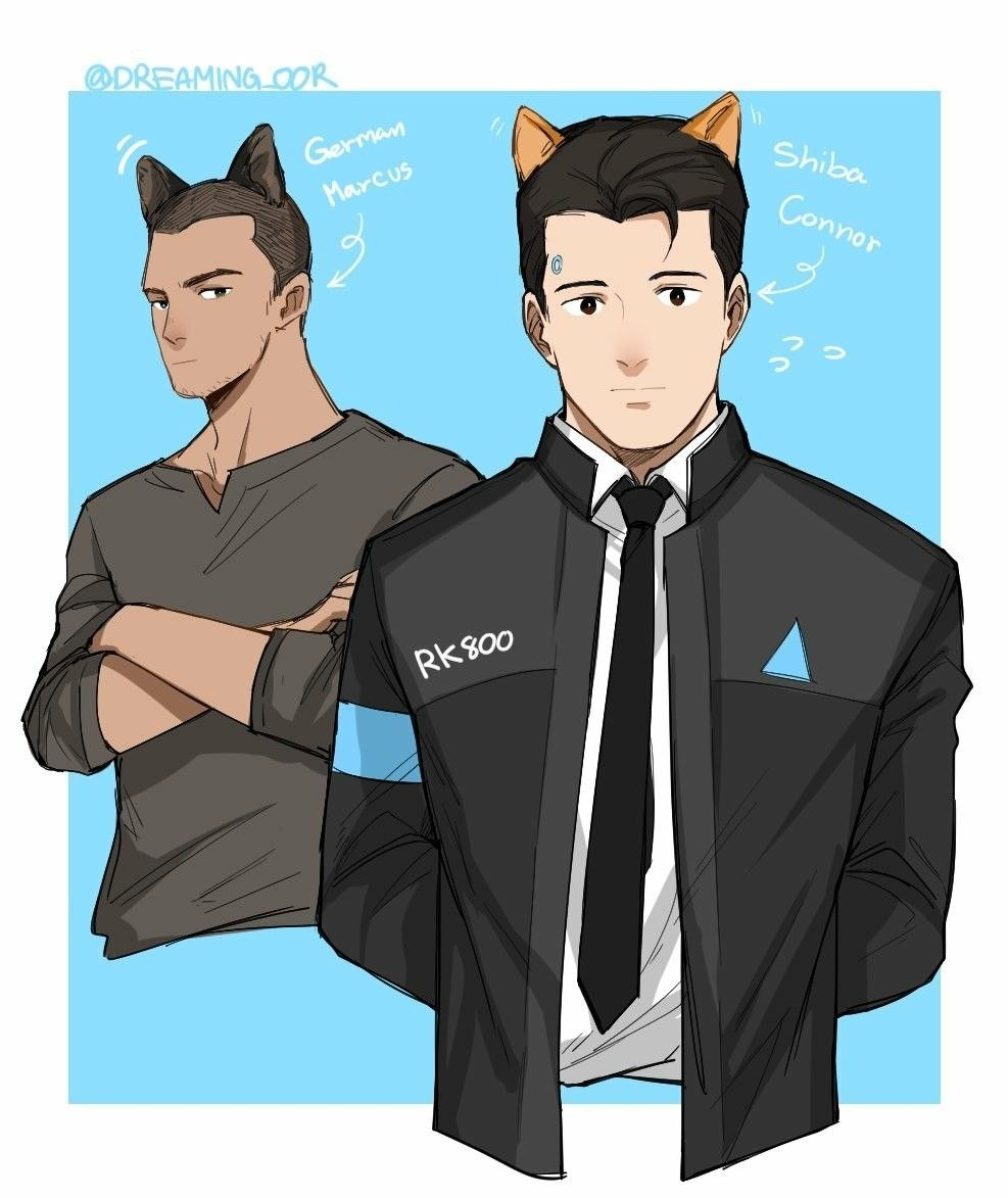 Detroit become human Connor and Markus || MY BOYS | Detroit : Become