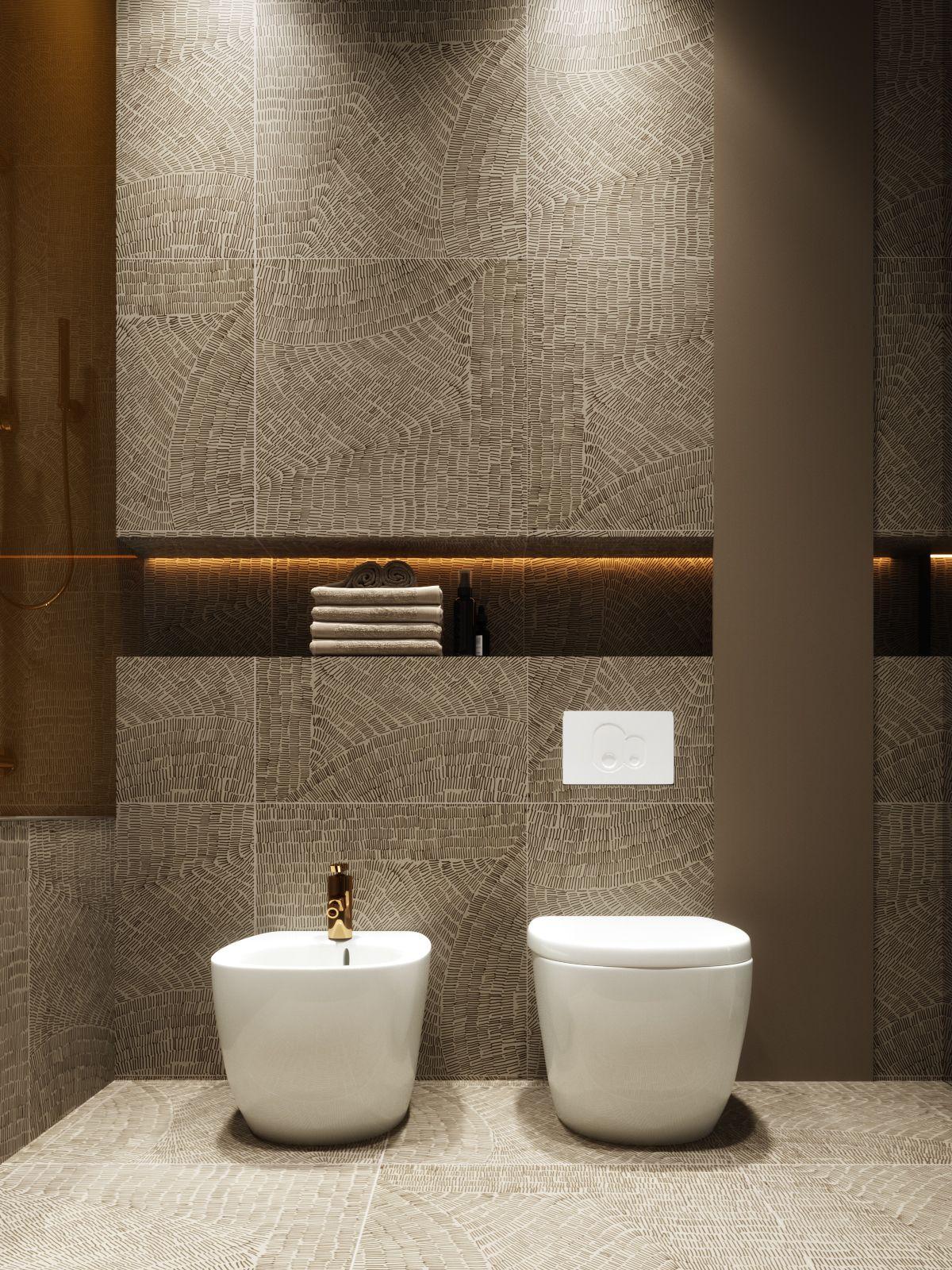 Gold On Behance Washroom Design Toilet Tiles Design Bathroom Wall Decor