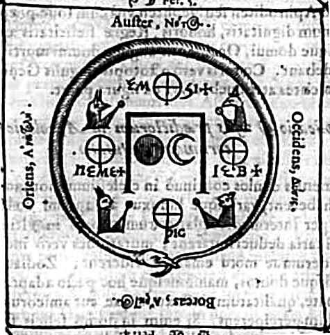 Woodcut extract the oedipus aegyptiacus athanasius kircher drawings woodcut extract the oedipus aegyptiacus fandeluxe Image collections