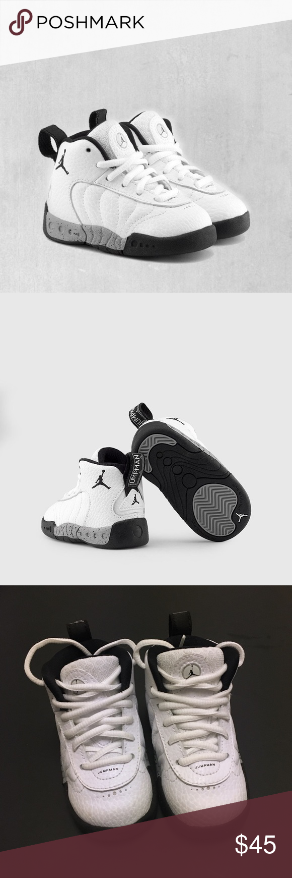 a197cc3b45cc7 Jordan Jumpman Pro Toddler/Baby Shoes Worn once In excellent ...
