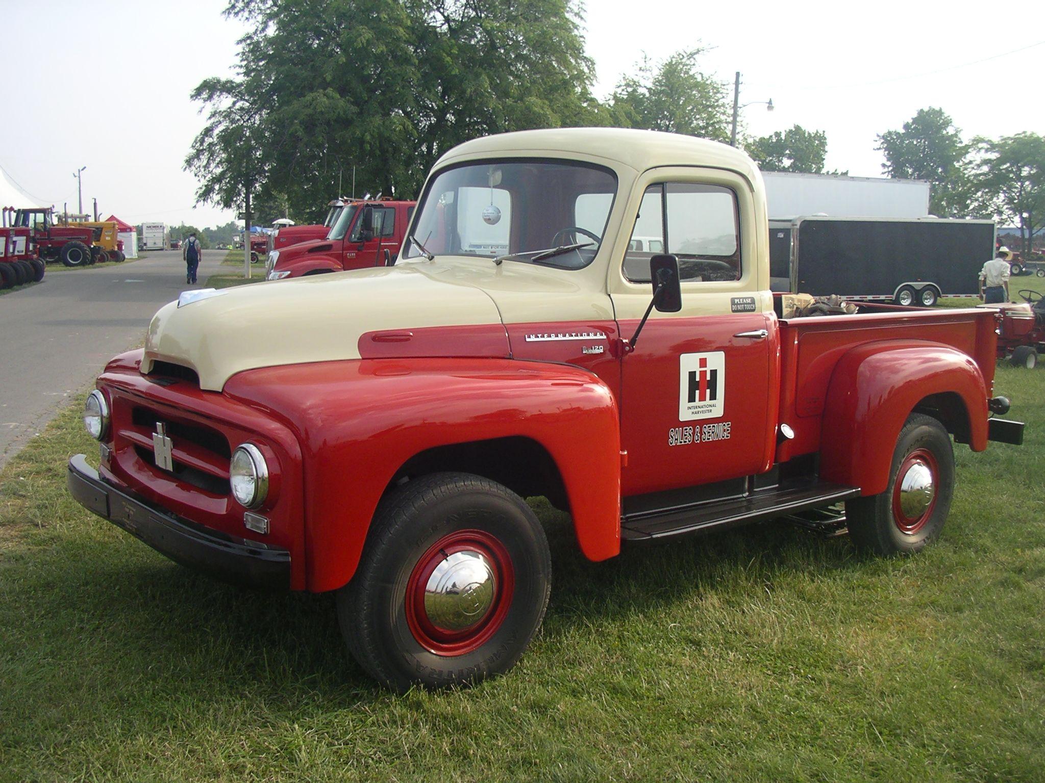 1955 Ih R 120 4wd Service Truck Pickup Trucks Trucks