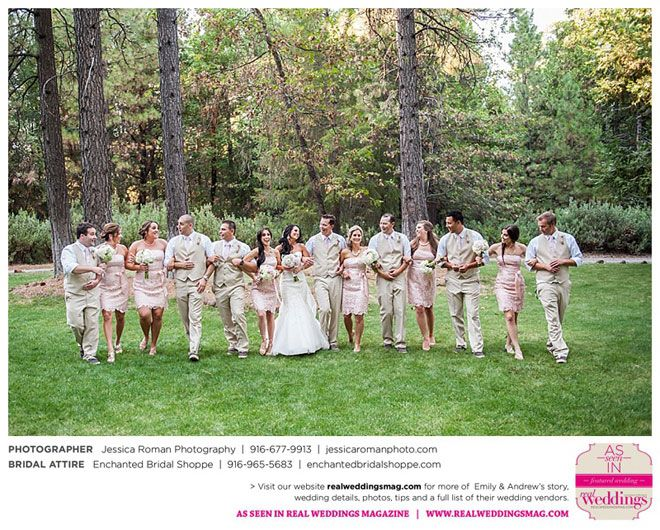Featured Real Wedding: Emily and Andrew is published in Real Weddings Magazine's Summer/Fall 2015 Issue! Participating vendors include: www.jessicaromanphoto.com and www.enchantedbridalshoppe.com. For more photos and their full list of wedding vendors, visit: www.realweddingsmag.com/?p=52429