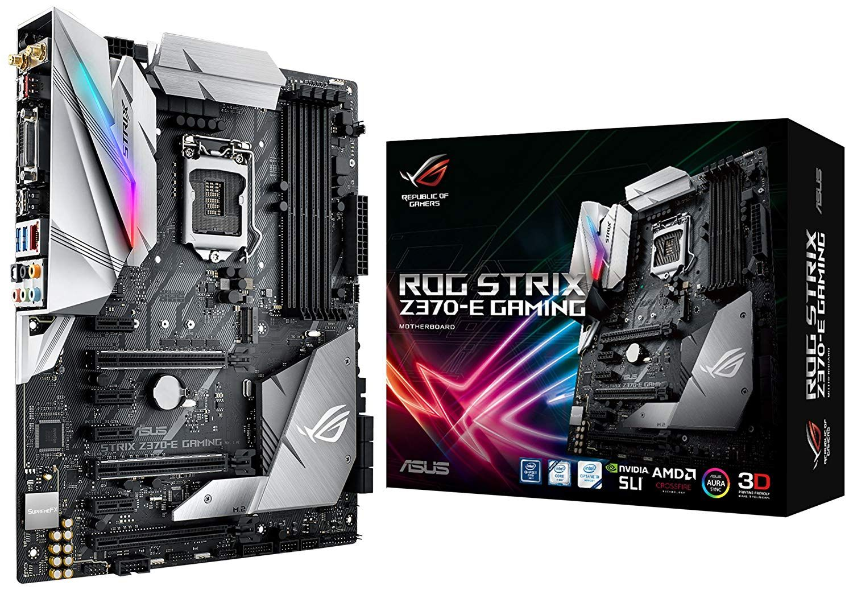 Asus Rog Strix Z370 E Gaming Lga1151 Intel 8th Gen Ddr4 Dp Hdmi