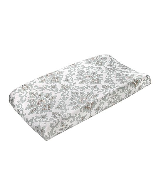 Willow Green Cecelia Changing Pad Cover