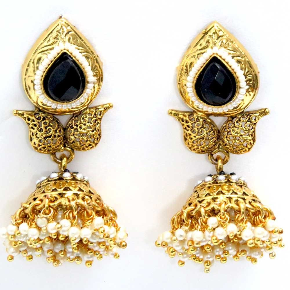Gold Jewelry Earring Beautiful Latest Design 2015 (6)
