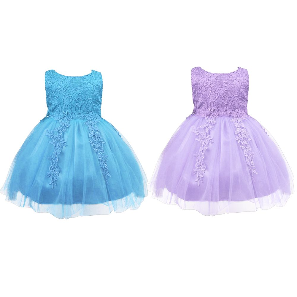 2017 New Arrival Summer Baby Girls Princess Party Dress Infant ...
