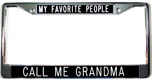 GREAT MOMS GET PROMOTED TO GRANDMA License Plate Frame