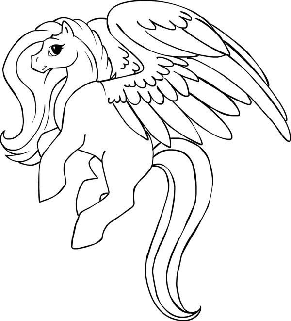 pegasus coloring pages for kids bunny coloring car color pages 2 - Bunny Pictures To Color 2