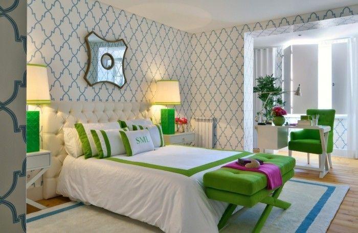 Tapeten Schlafzimmer Ideen und Vorschläge für ein
