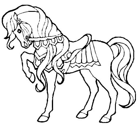 kleurplaat paard 13 kleurplaten paarden