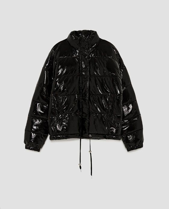 b6007be0f2f QUILTED VINYL JACKET from Zara