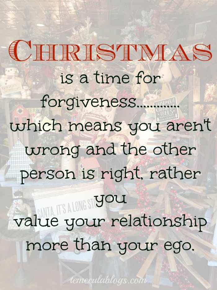 Christmas Forgiveness Quote Christmas Quotes Forgiveness Quotes