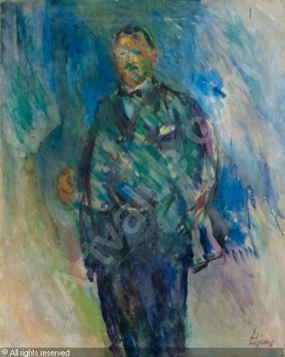 Ludvig Karsten MAN IN A FROCK COAT, PRESUMED TO BE THE ARTIST HENRIK LUND sold by Sotheby's, London, on Tuesday, November 22, 2011