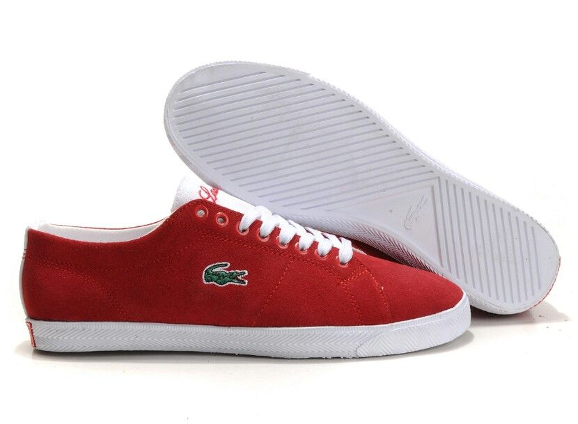Lacoste Red Stylish Men Sneakers Lacoste