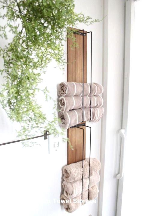 Diy Bathroom Towel Storage Ideas Towelstorage Diy Bathroom Storage Diy Bathroom Towel Rack