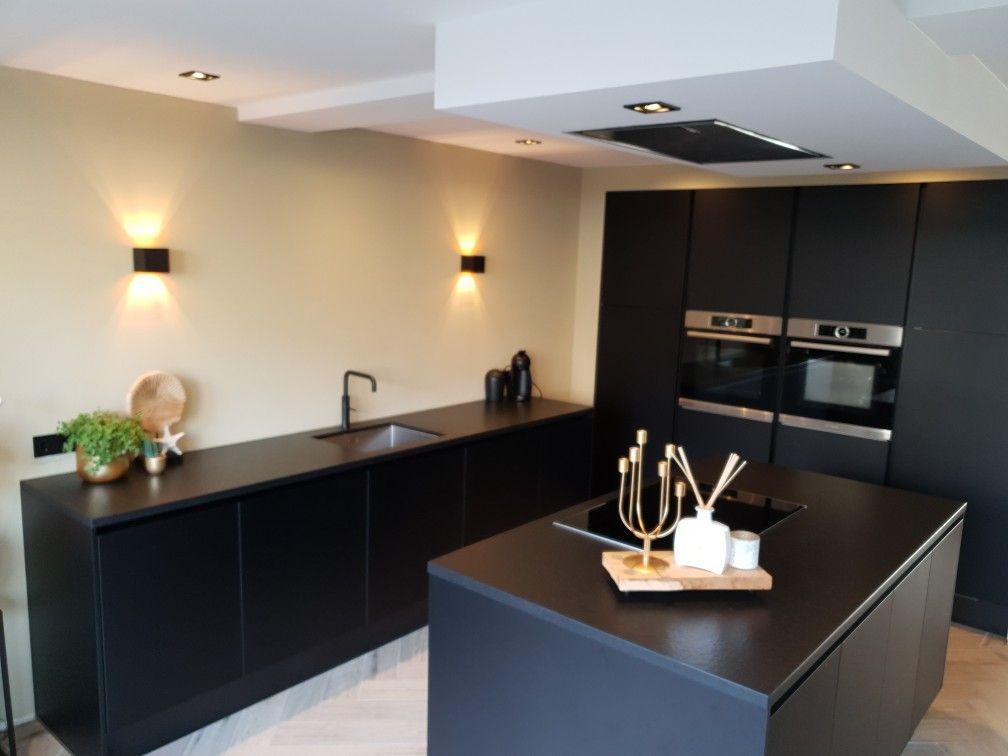 Zwarte Keuken Keuken Ontwerp Keuken Keuken Zwart