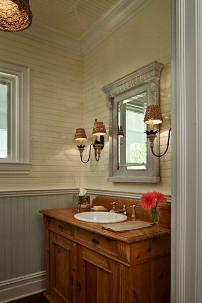 Farmhouse Master Bathroom Wallpaper