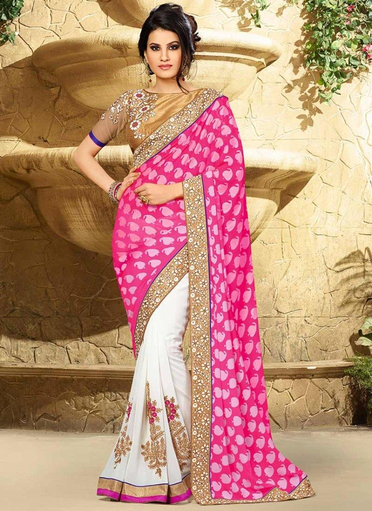 Beautiful Indian Party Wear Saree Collection 2015