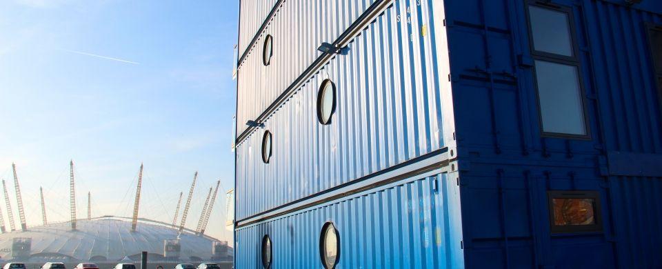 Container city vivir en un contenedor 6 retail container pinterest contenedores vivi y - Contenedores para vivir ...