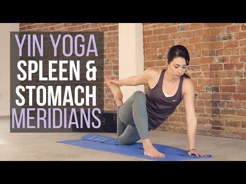 Yin for Spleen & Stomach Meridians - Inner Thigh, Back