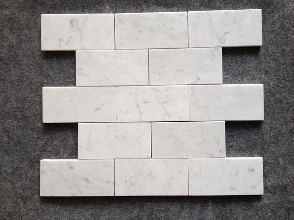 Cool 1 Inch Ceramic Tile Small 12 X 12 Ceiling Tiles Regular 12 X 24 Floor Tile 12X24 Ceramic Tile Old 16X16 Floor Tile Yellow18X18 Tile Flooring Bianco Carrara White Polished Marble 3x6\