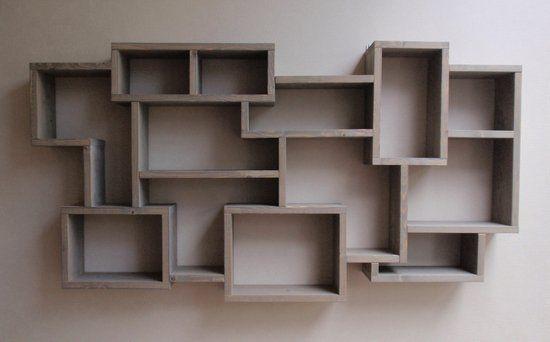 splinterz meubelmakerij hangende boekenkast