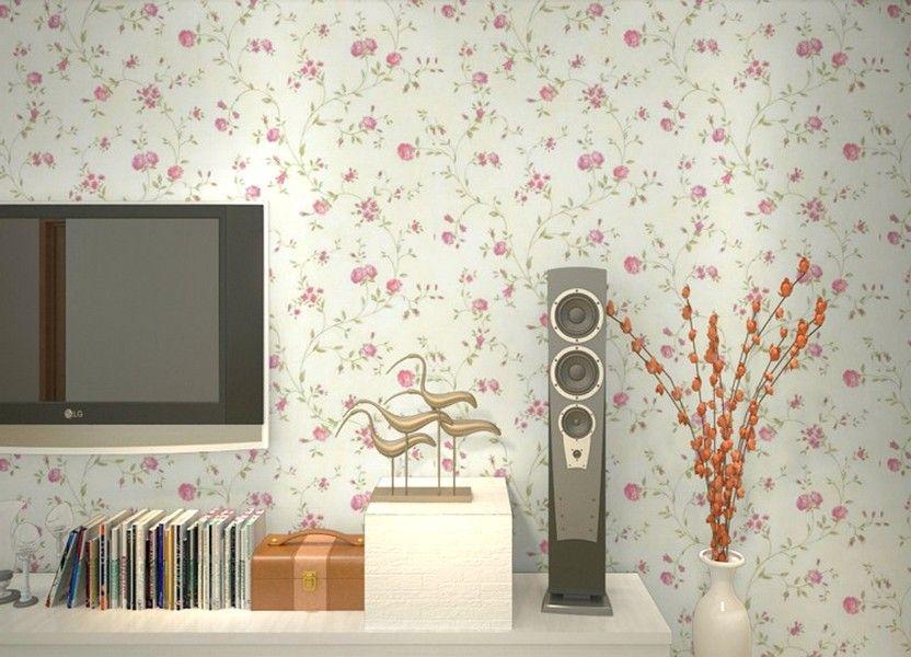 Modern Ide Desain Wallpaper Dinding Ruang Tamu Minimalis Kecil Motif