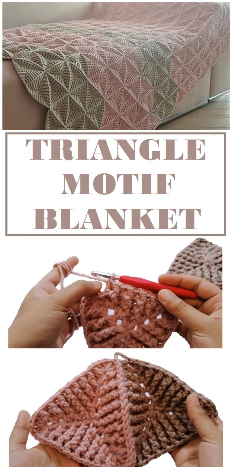Photo of How to Crochet a Hexagon, Triangle Blanket – Design Peak