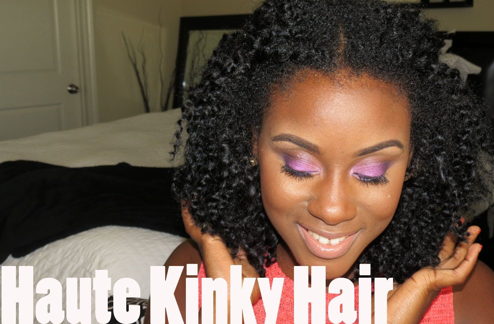 The Best Natural Hair Weave Haute Kinky Hair Youtube Kinky