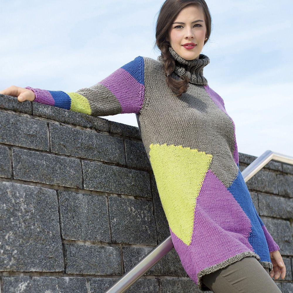 женский свитер крупной вязки спицами 12 схема