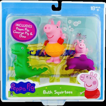 Peppa Pig Bath Squirtees Multicolor Products Peppa Pig Bath