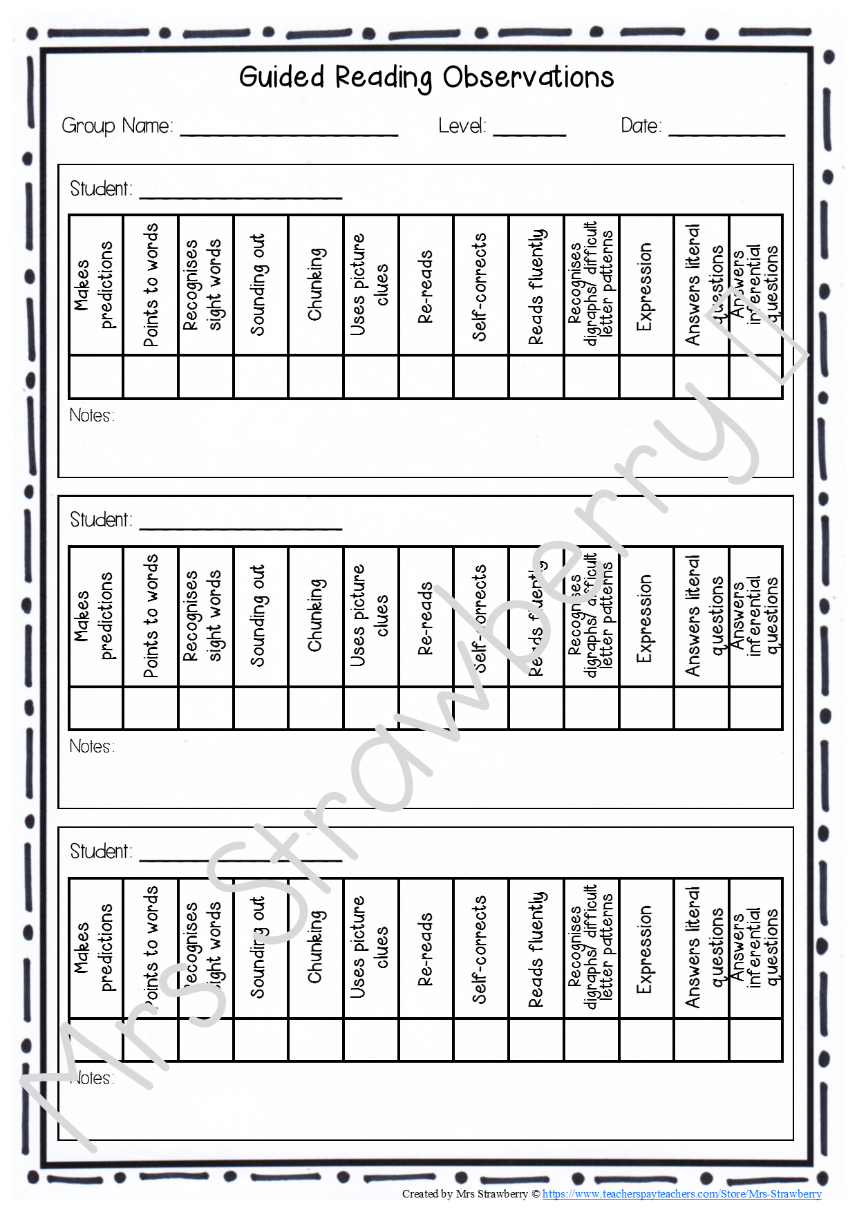 Home Subjects English Reading Strategies