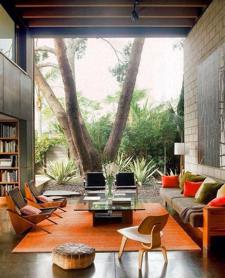 Mid Century Desain Arsitektur Desain Interior Modern Dan
