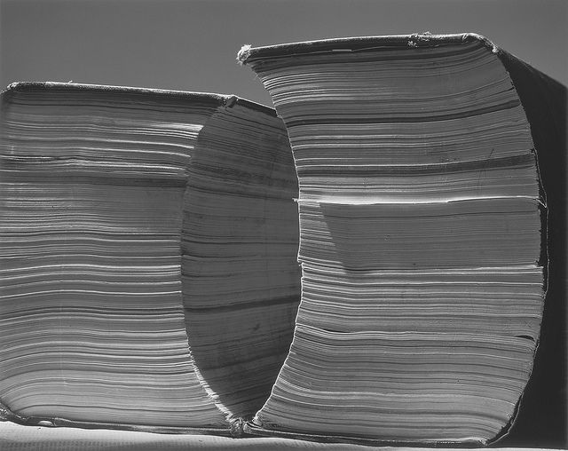 Abelardo Morell. Two Tall Books.