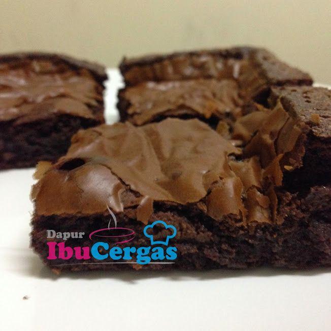 Resepi Wrinkles Brownies Kedut Sedap Dan Mudah Dapur Ibucergas