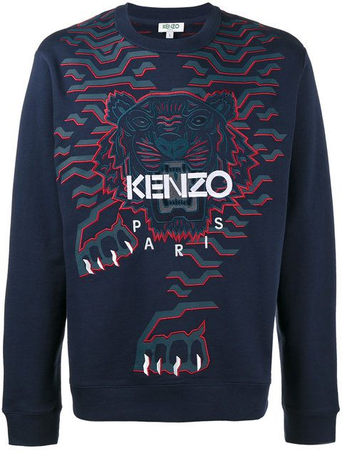 24fa3edb466 Kenzo Geo Tiger sweatshirt