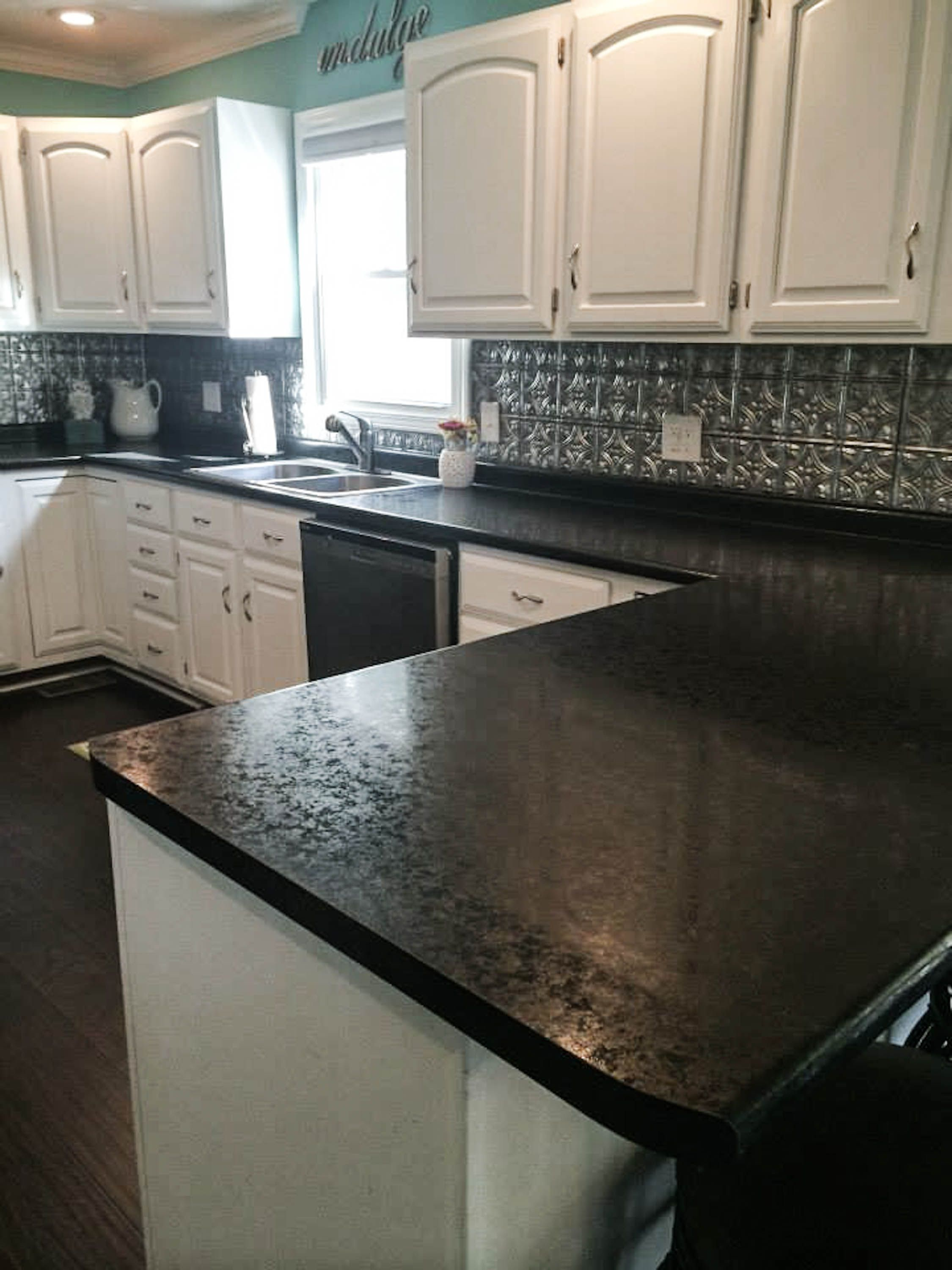 When we bought our foreclosure, the kitchen was one of the biggest eye sores of the entire house. The renovation turned out to be one of my very favorites.