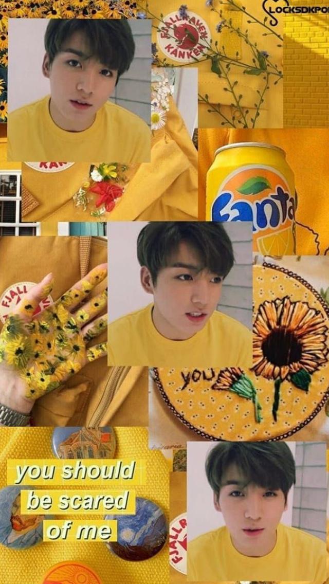 Monsta X Wallpaper Iphone Yellow Kookie Bts Babies Monsta X Exo Ikon And More