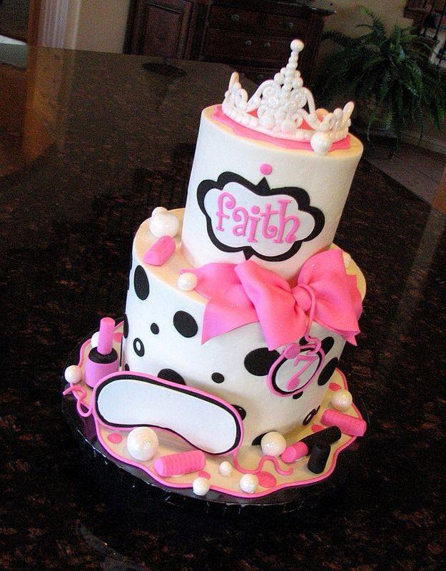 Spa Cake Spa Cake Spa And Cake - Spa birthday party cake
