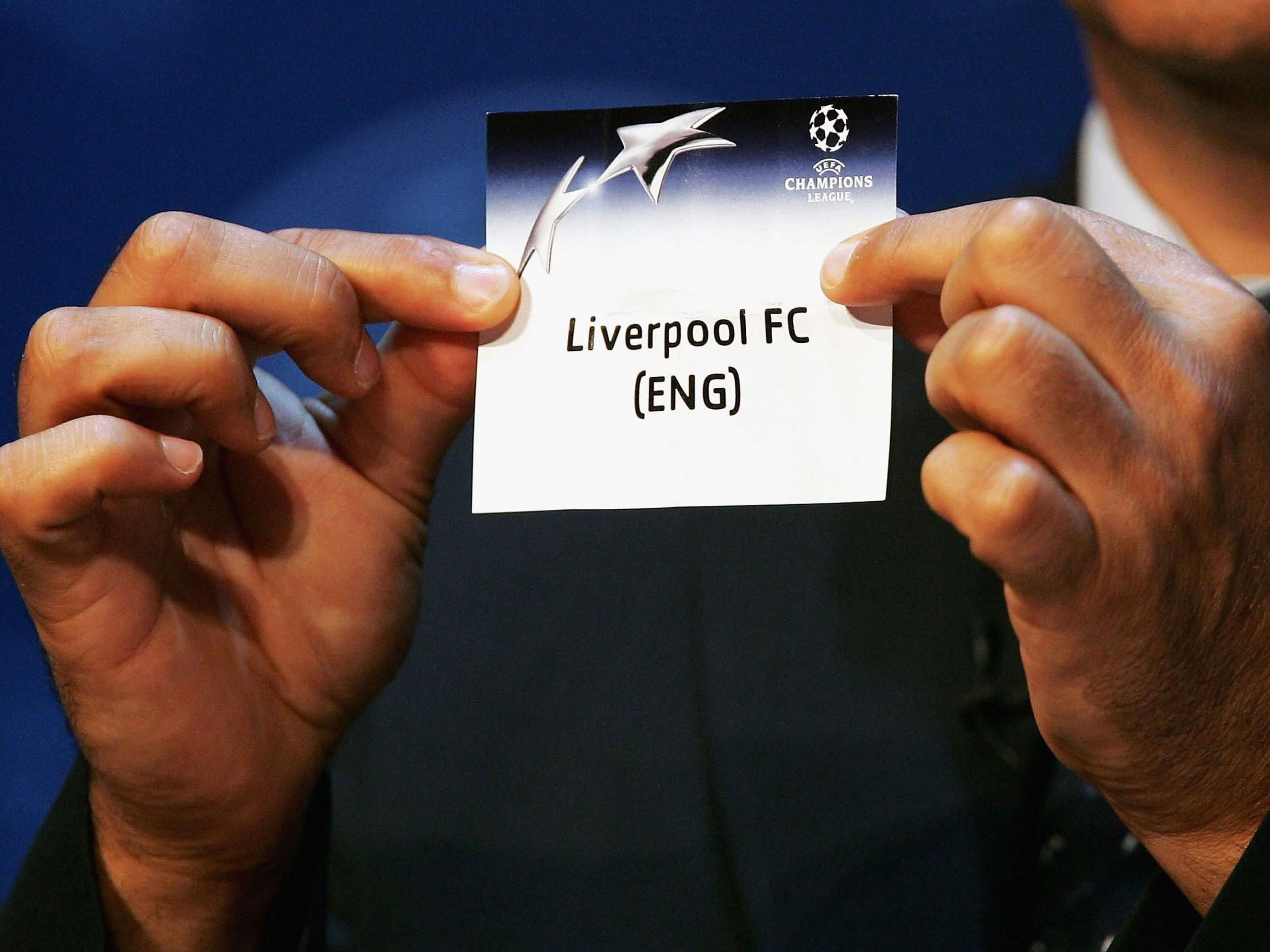 Champions League play-off draw - as it happened | News