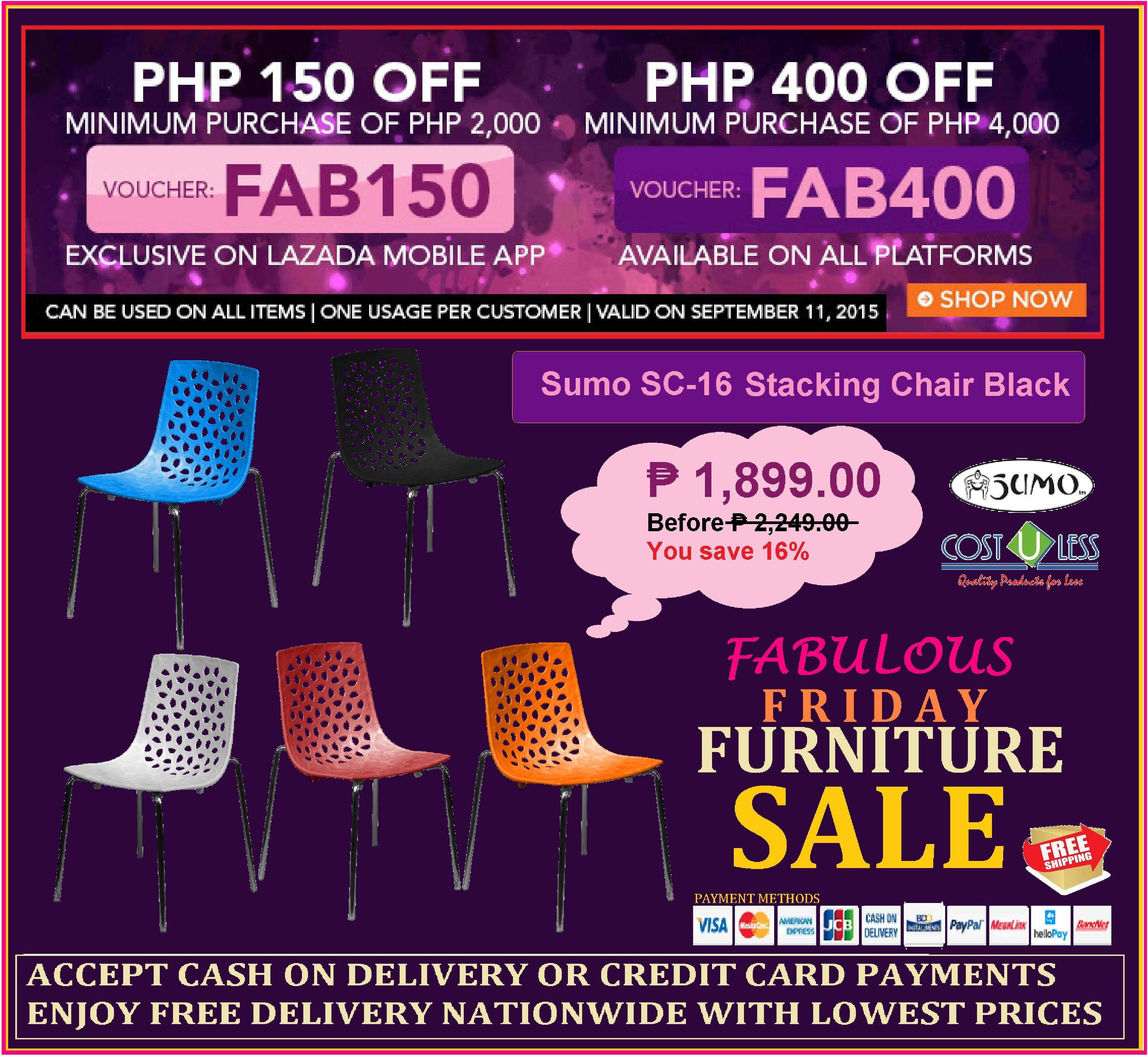 restaurant furniture sale lazada s fabulous promo save p150 up to