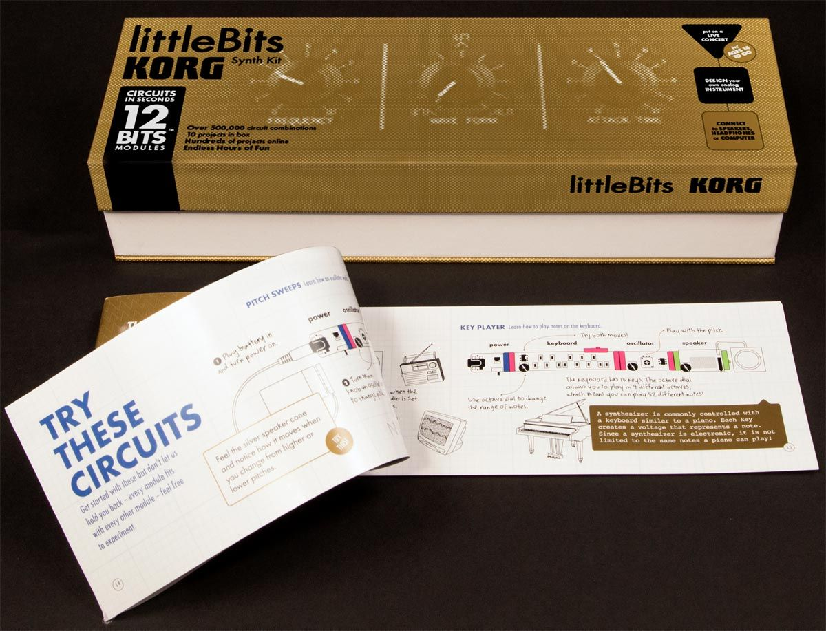 "Korg ""LittleBits"" analog synth kit"