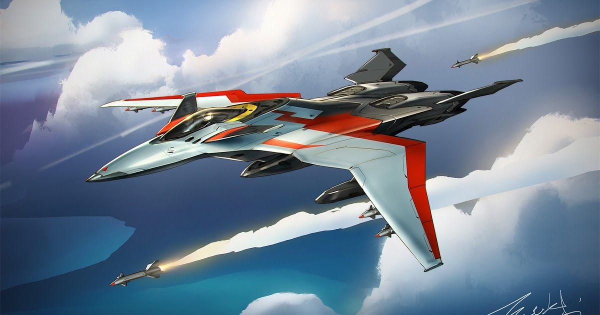 Jet Fighter Concept By Ben Zhang Keywords Jet Space Fighter Plane Ship Illustration Design Art By Ben Zhang Lead Concept A In 2020 Fighter Jets Fighter Space Fighter