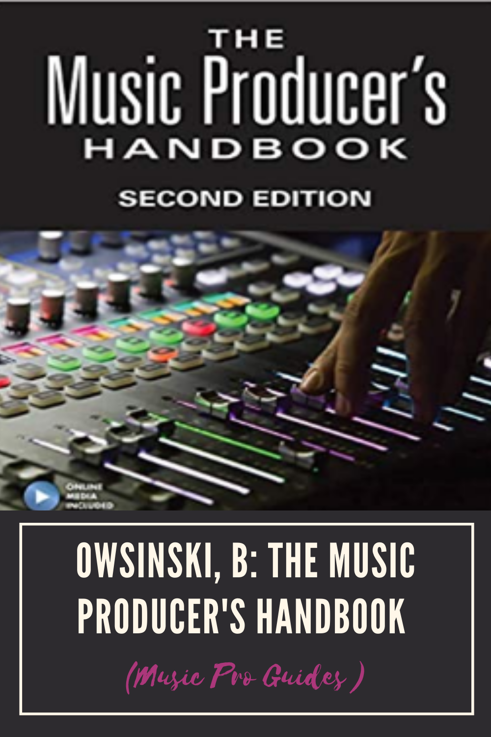 Owsinski B The Music Producer S Handbook Music Pro Guides Bobby Bucher
