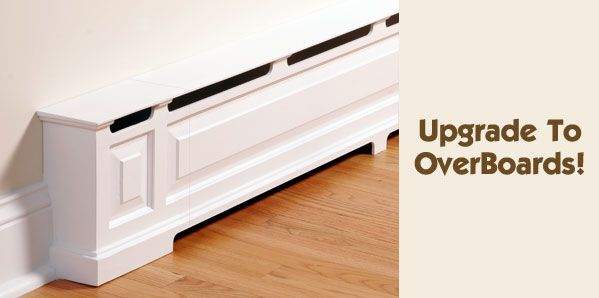 Overboards: Classic Baseboard Heater Covers.!!! I Want These So Bad!