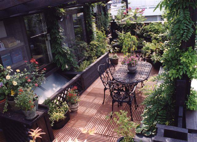 balcony garden Favorite Places  Spaces Pinterest Balcony