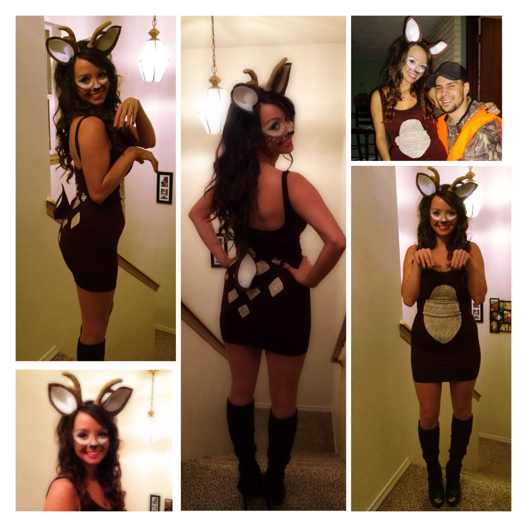 Waldtiere Kostüme Homemade Deer Halloween Costume I Had A Lot Of Fun Making